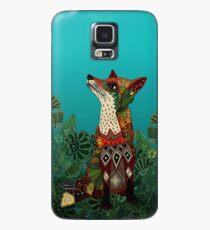 floral fox Case/Skin for Samsung Galaxy