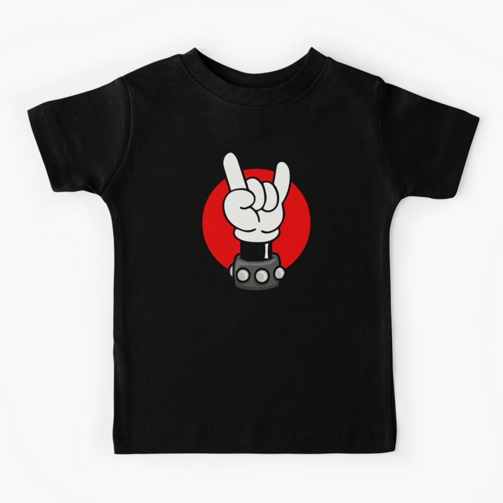 METAL - ROCKER - MOUSE Kids T-Shirt