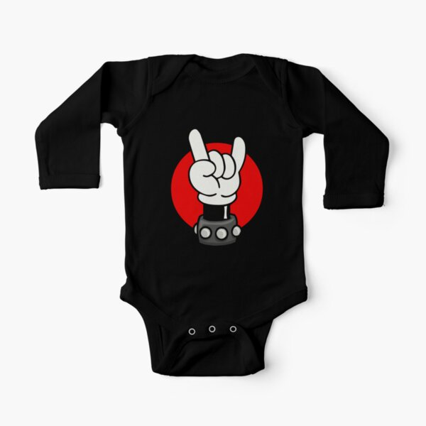ROCK ON Long Sleeve Baby One-Piece