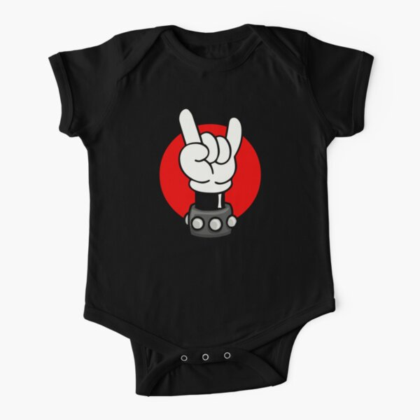 ROCK ON Short Sleeve Baby One-Piece