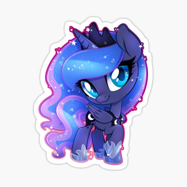chibi Princess Luna Sticker