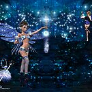 Nightime Fairy Magic by EnchantedDreams