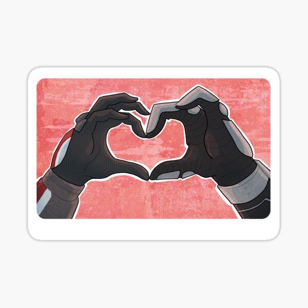 Heart Hands Sticker