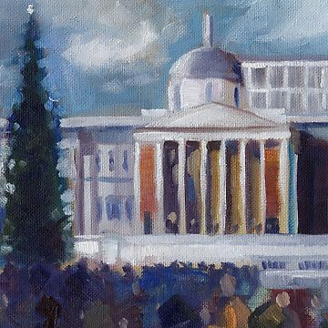 Trafalgar Square, December (Card) by JMNeedham