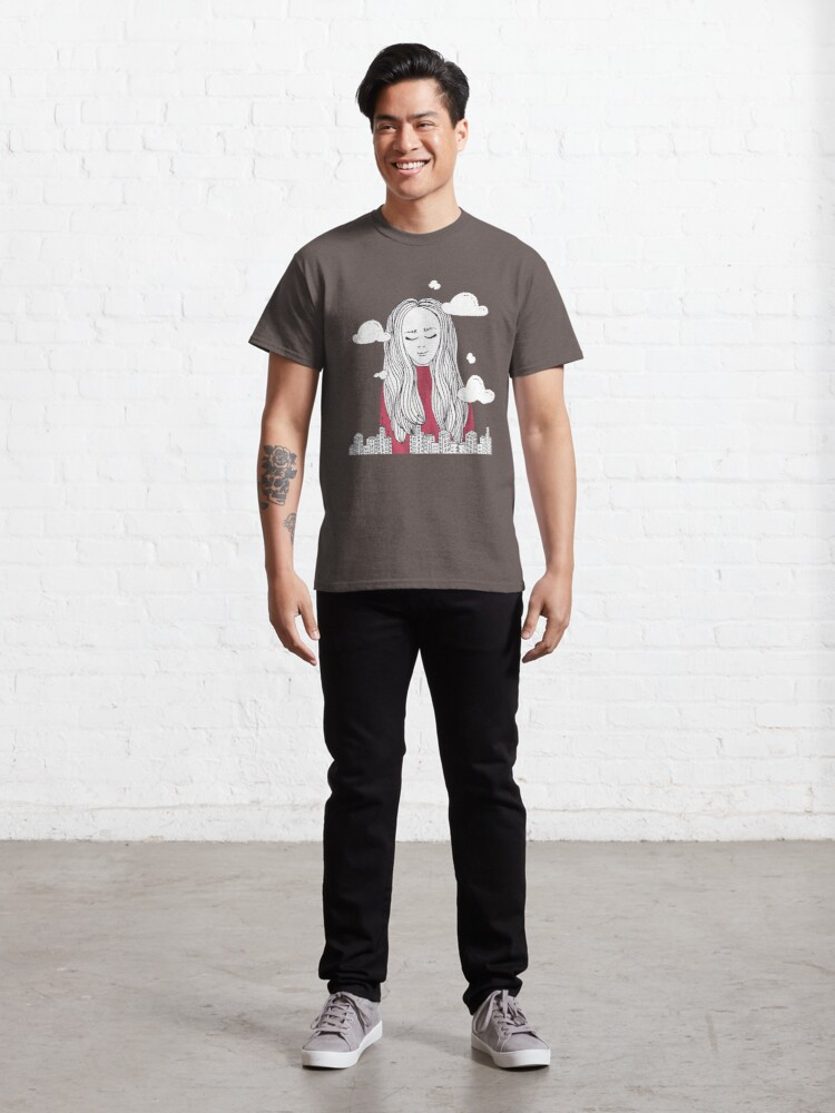 Alternate view of Daydreaming - Head in the clouds Classic T-Shirt