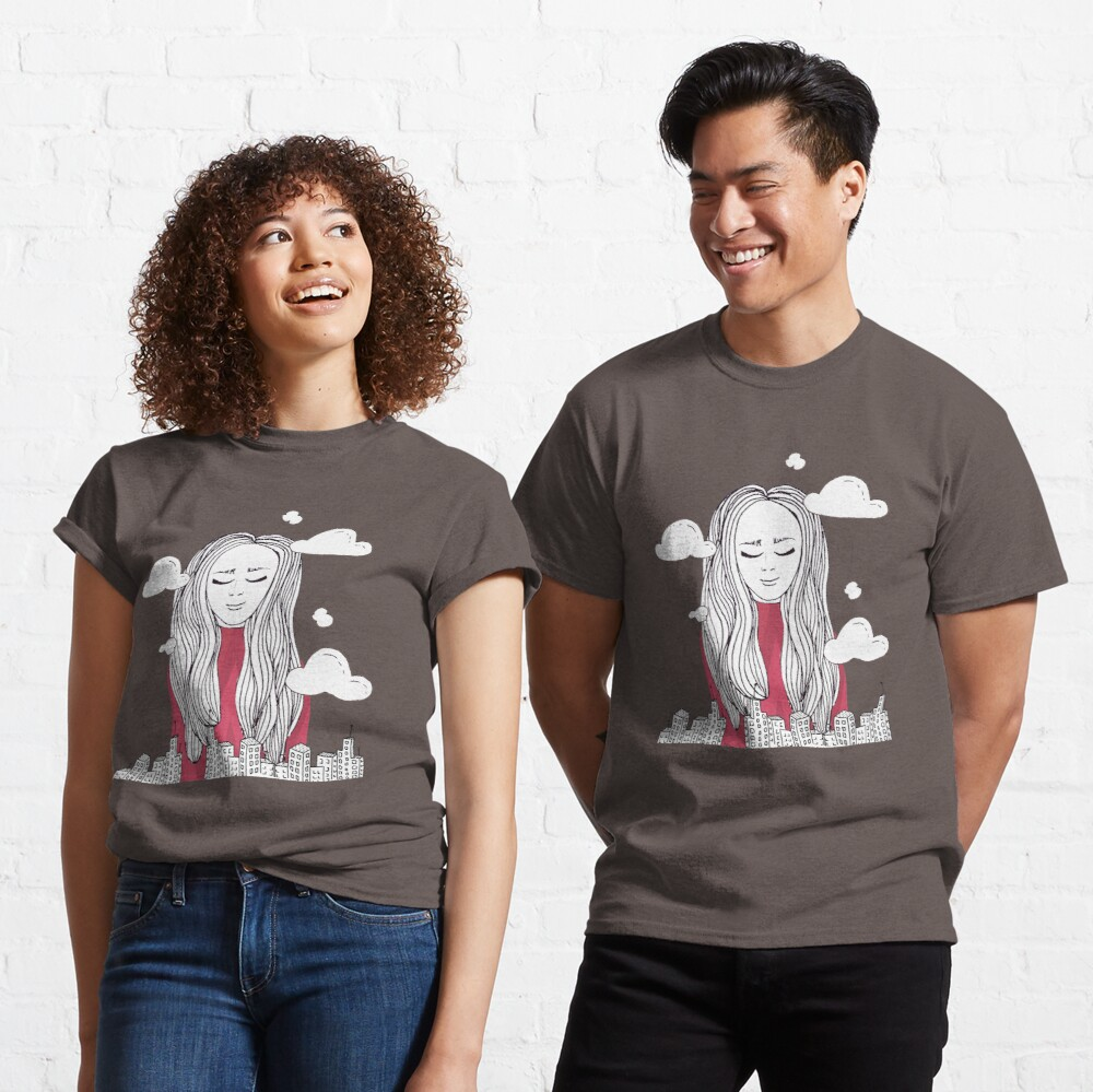 Daydreaming - Head in the clouds Classic T-Shirt