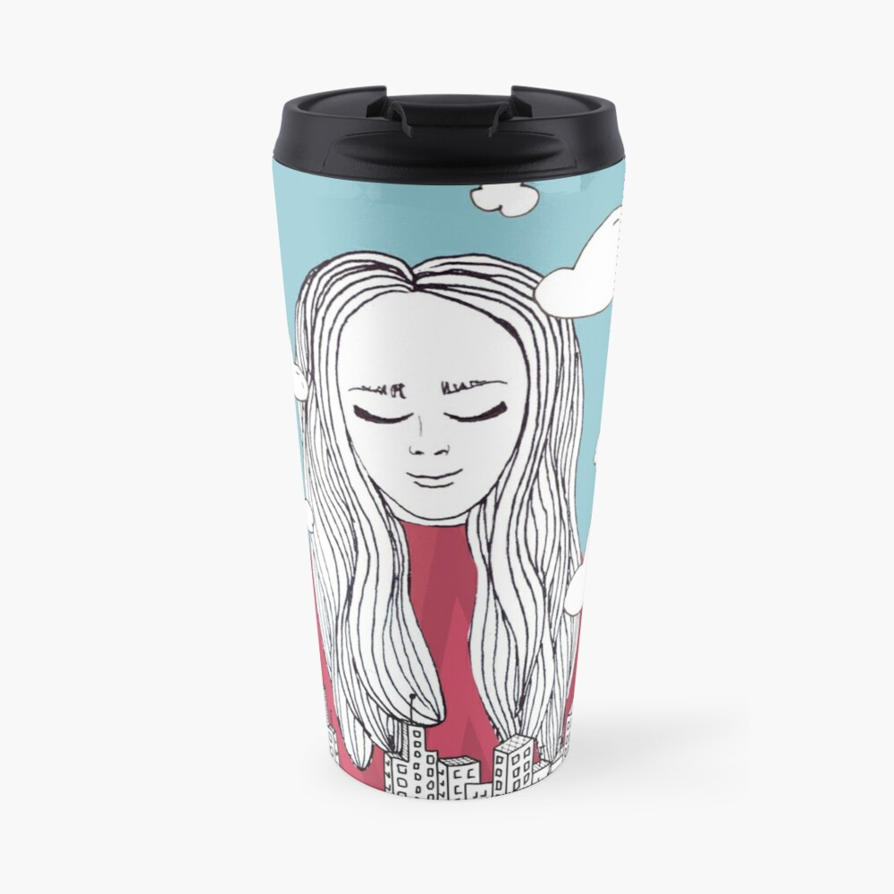 Daydreaming - Head in the clouds Travel Mug