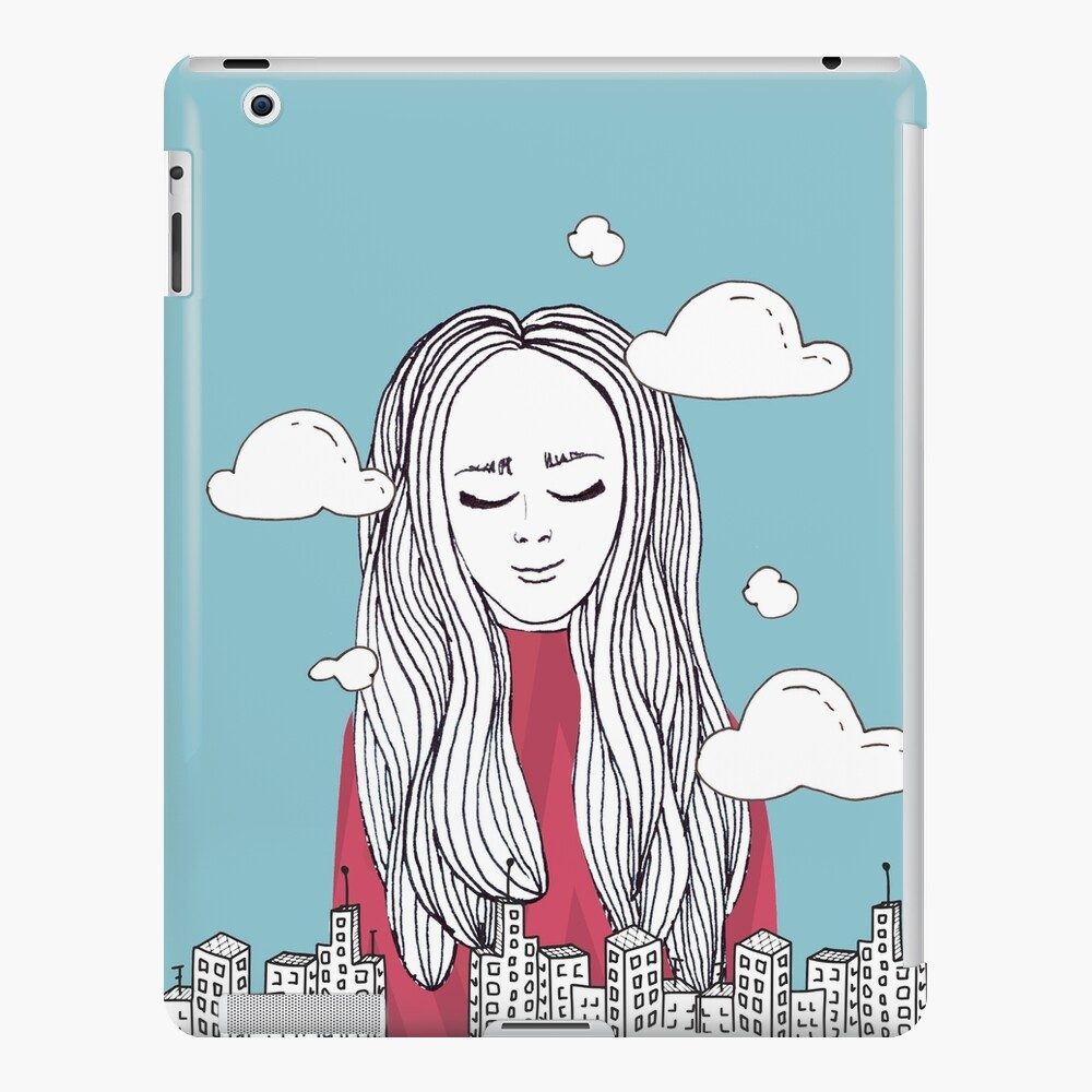 Daydreaming - Head in the clouds iPad Case & Skin
