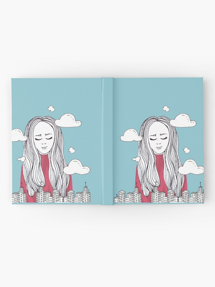 Alternate view of Daydreaming - Head in the clouds Hardcover Journal