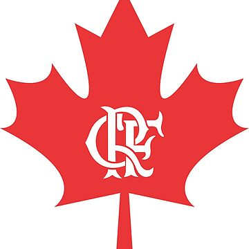 Flamengo Canadá T-Shirt by claudiorrb