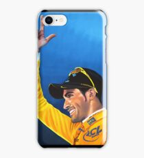 Alberto Contador painting iPhone Case/Skin