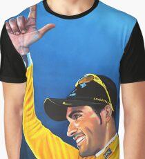 Alberto Contador painting Graphic T-Shirt