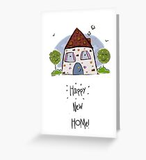 Happy New Home! Greeting Card
