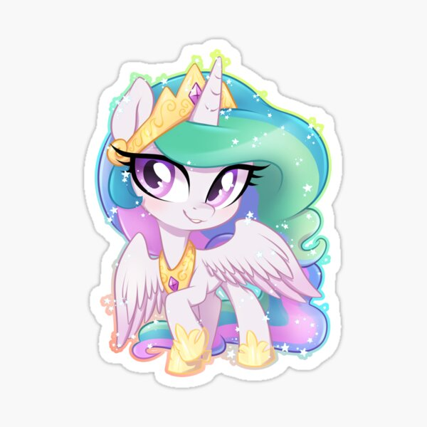 little Princess Celestia Sticker