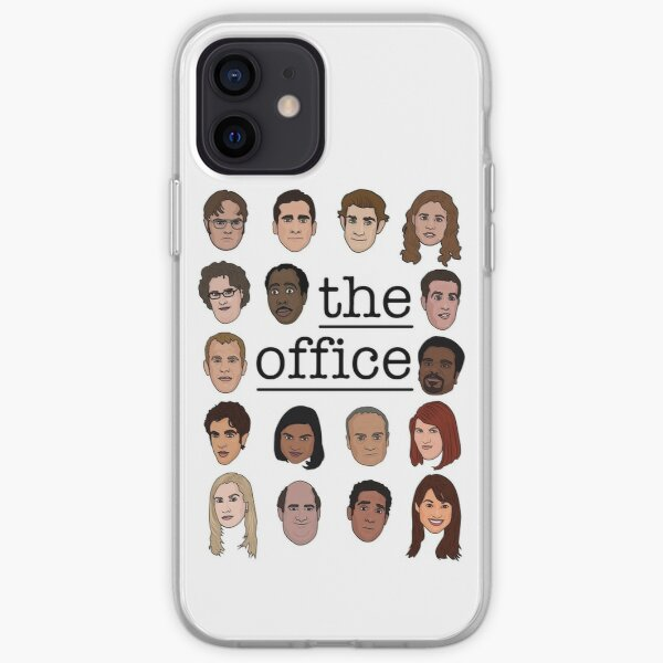 The Office Crew iPhone Soft Case