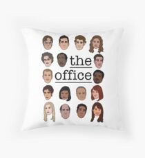 The Office Crew Throw Pillow