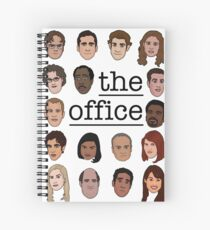 The Office Crew Spiral Notebook