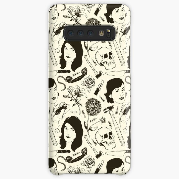 True Crime Pattern Samsung Galaxy Snap Case