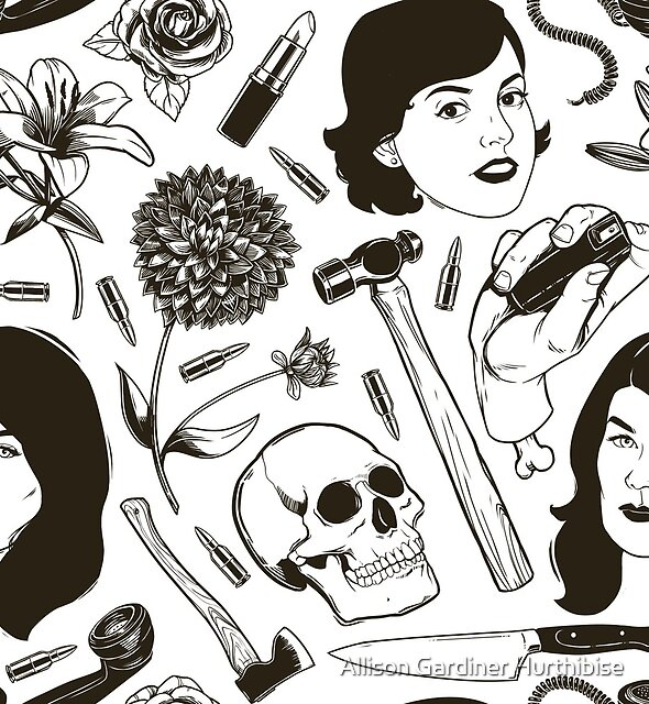 MFM- Murderino Pattern by Allison Gardiner