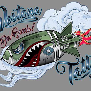 Westona Tattoo Da-Bomb by ScottyTattoo
