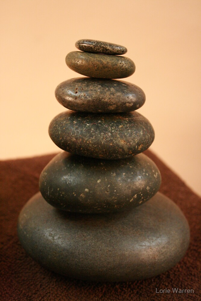 Hot Stone Massage by Lorie Warren