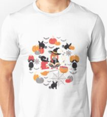 Enchanted Vintage Halloween Spell T-Shirt