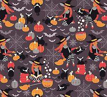 Enchanted Vintage Halloween Spell by SelmaCardoso