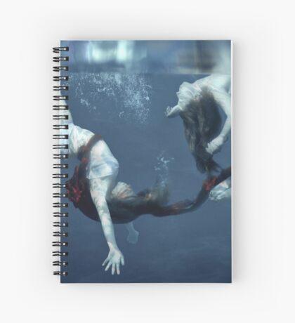 A Drop Of Blood Spiral Notebook