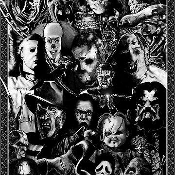 Classic horror guise by RandyMax