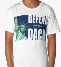 Defend DACA Statue of Liberty Long T-Shirt