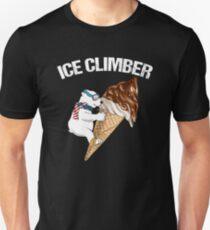 Ice Cream Climber Bear  T-Shirt