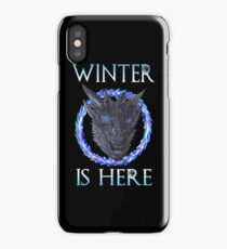 Winter Is Here Game Of Thrones iPhone Case/Skin