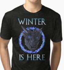 Winter Is Here Game Of Thrones Tri-blend T-Shirt