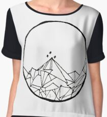 A Court of Thorns and Roses: The Night Court Drawing (Single Design) Chiffon Top