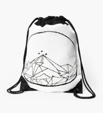 A Court of Thorns and Roses: The Night Court Drawing (Single Design) Drawstring Bag