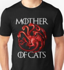 Mother Of Cats Funny Game Of Thrones Unisex T-Shirt