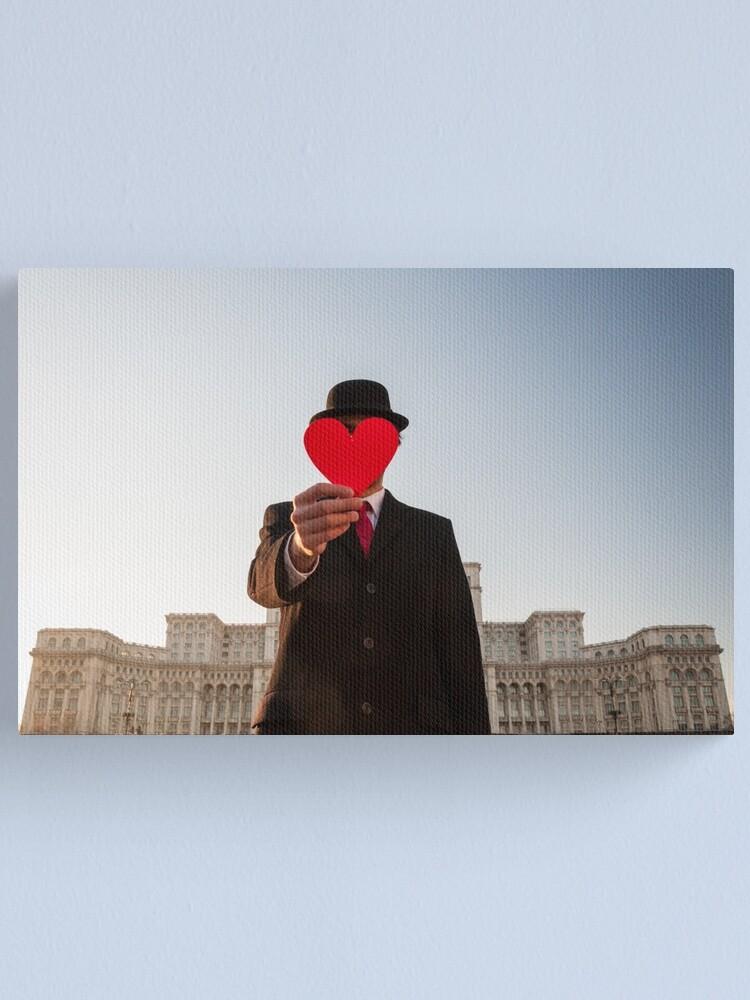 Alternate view of Postcard Canvas Print