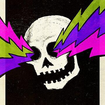Lightning Bolt Skull by jasoncastillo
