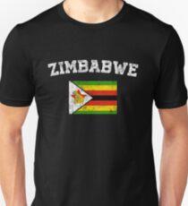 Simbabwische Flagge Shirt - Vintage Simbabwe T-Shirt Unisex T-Shirt