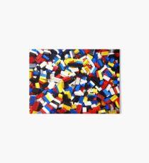 Colorful Building Blocks Art Board