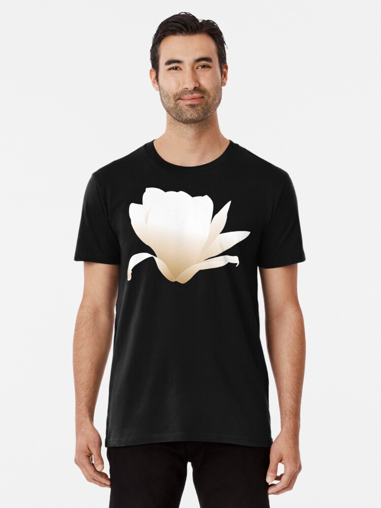 Simple Magnolia Flower T Shirt By Lkkeen Redbubble