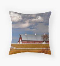 Prosperous Farm Throw Pillow