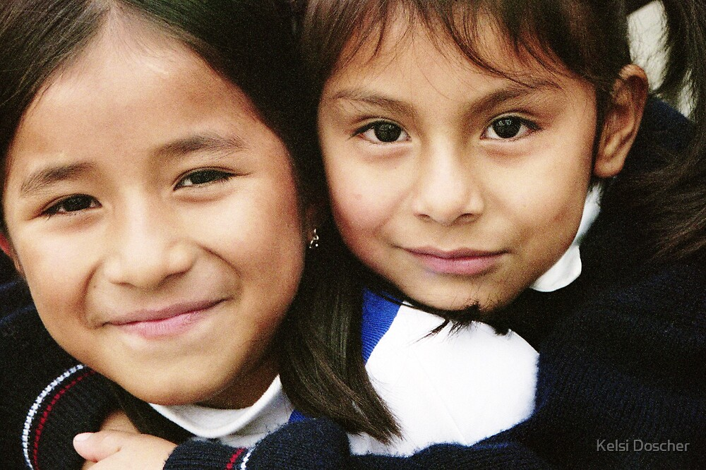 The Faces of Sacred Heart School #5 - Canto Grande, Peru by Kelsi Doscher
