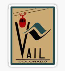 Vail Colorado Vintage Travel Decal Sticker