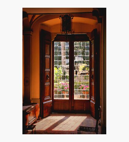 Door to the Garden Photographic Print