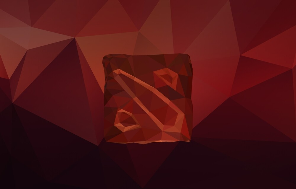 Dota Low Poly Art by giftmones
