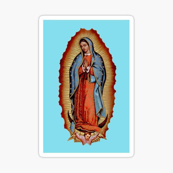 Virgin / Virgen Mary Maria De Guadalupe Sticker