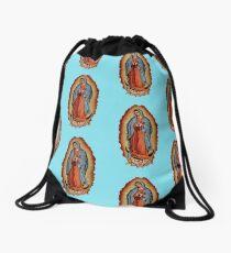 Virgin / Virgen Mary Maria De Guadalupe Drawstring Bag
