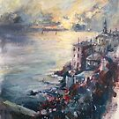 The Ligurian coast (Italy) by Ivana Pinaffo