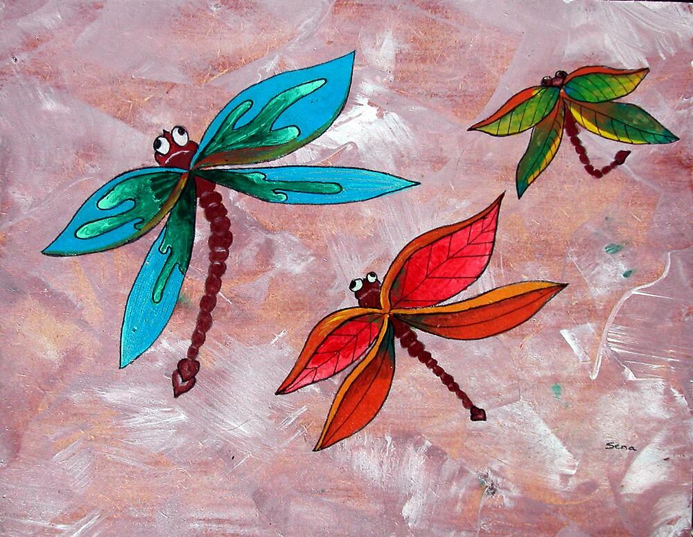 dragonfly by Sena Goztepeli